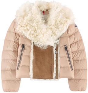 Moncler Bi-material padded coat - Ancestral