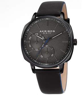 Akribos XXIV Mens Black Bracelet Watch-A-1022bk