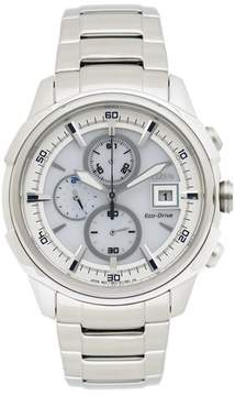 Citizen Eco-Drive CA0370-54A White Dial Watch