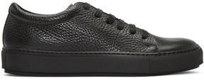 Acne Studios Black Adrian Grain Sneakers