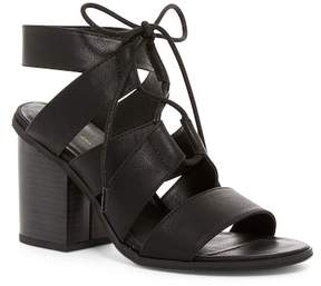 BC Footwear Valor Vegan Strappy Block Heel Sandal
