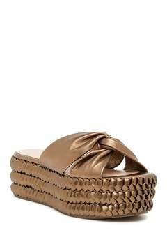 Rachel Zoe Polly Flatform Braided Sandal