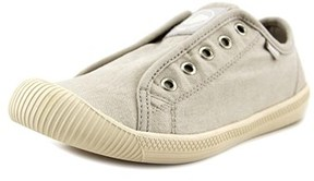 Palladium Flex Slip-on Round Toe Canvas Sneakers.