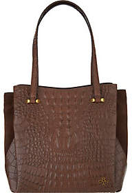 Oryany Embossed Alligator Leather Shoulder Bag-Alyssa