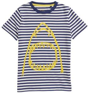 Boden Mini Arty Shark T-Shirt