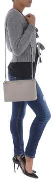 Michael Kors Adele Double Zip Crossbody Bag - CEMENTO - STYLE