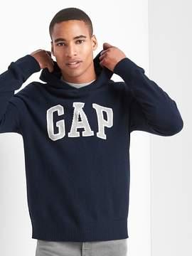 Gap Merino wool blend logo hoodie