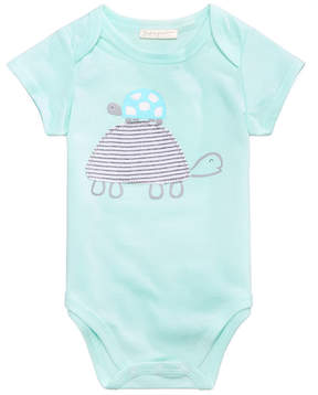 First Impressions Turtle Bodysuit, Baby Boys or Girls, Created for Macy's