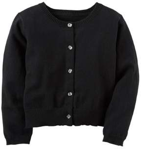 Carter's Little Girls' Cardigan (Sizes 4 - 6X) - black, 5
