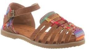 BearPaw Girls' Tasha Huarache Sandal.