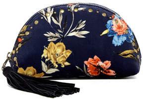 Lucky Brand Anna Floral Velvet Clutch