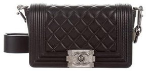Chanel Galuchat-Accented Small Boy Bag