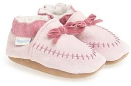 Robeez Infant Cozy Moccasin Crib Shoe