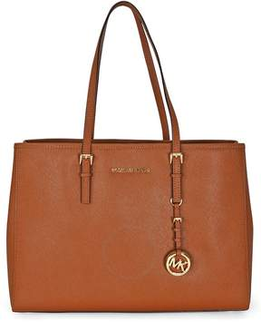 Michael Kors Open Box - Jet Set Travel Tote Large Tote in Luggage - Tan - ONE COLOR - STYLE