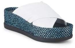 Sigerson Morrison Hana Leather Platform Sandals