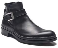 Cesare Paciotti Men Leather Dan Calf Boots Black.
