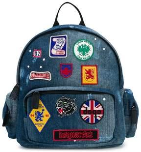 DSQUARED2 badges backpack