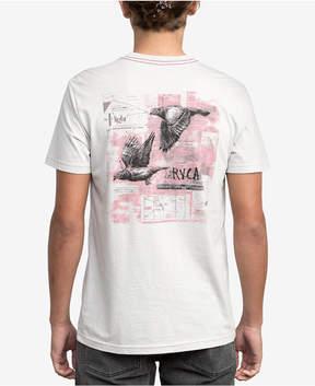 RVCA Men's Living Conditions Ben Horton Graphic-Print T-Shirt