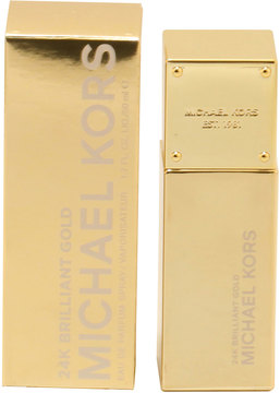 Michael Kors 24K Brilliant Gold for Women Eau de Parfum Spray, 3.4 oz./ 100 mL