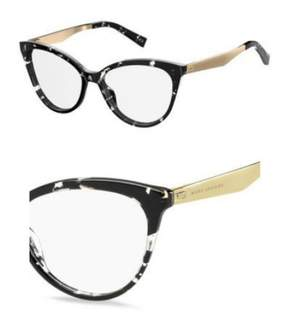 Marc Jacobs Eyeglasses 205 09WZ Havana Black Crystal