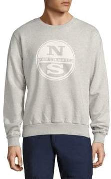 North Sails Graphic Printed Fleece Pullover