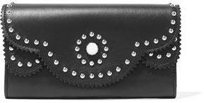 Sandro Alana Studded Leather Wallet