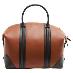 Givenchy Camel Leather Travel Bag