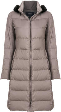 Armani Jeans long padded coat