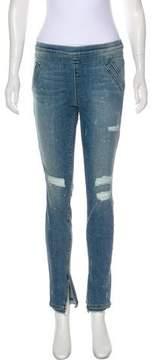 RtA Denim Mid-Rise Skinny Jeans w/ Tags