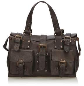 Mulberry Pre-owned: Leather Roxanne.