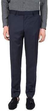 The Kooples Stitched Lines Slim Fit Dress Pants