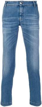 Entre Amis cropped slim fit jeans