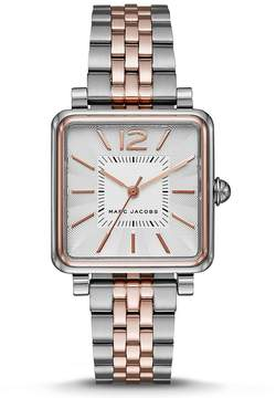 Marc Jacobs Vic Two Hand Square Watch