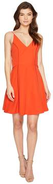 Adelyn Rae Jinni Woven Popover Fit and Flare Women's Dress