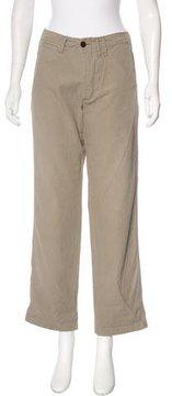 Chimala Mid-Rise Straight-Leg Pants