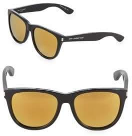 Saint Laurent 54MM Square Sunglasses