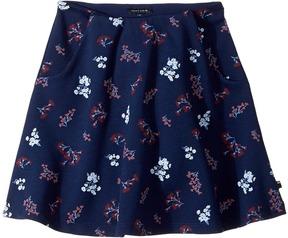 Tommy Hilfiger Printed Skater Skirt Girl's Skirt