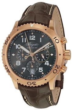 Breguet Transatlantique Type XXI Flyback Chronograph Rose Gold Men's Watch