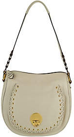 As Is orYANY Pebble Leather Shoulder Bag - Janessa