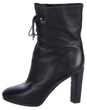 Diane von Furstenberg Square-Toe Platform Boots
