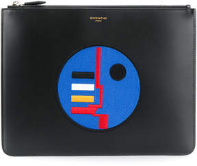 Givenchy Appliqué embroidered clutch