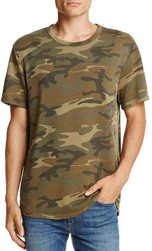 Alternative Apparel Concrete Jungle Camouflage Short Sleeve Knit Tee