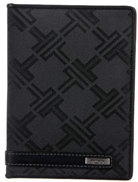Tumi Leather-Trimmed Travel Wallet