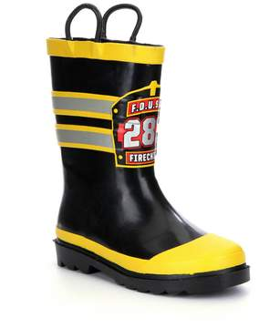 Western Chief FD USA Firechief Boys Rain Boots