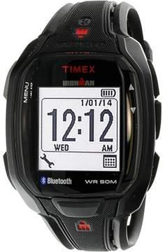 Timex Men's Ironman Run TW5K84600 Black Resin Quartz Sport Watch