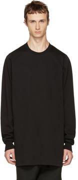 Rick Owens Black Crewneck Sweater