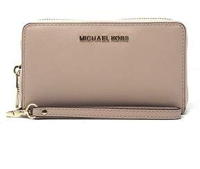 Michael Kors Ballet Jet Set Travel Leather Smartphone Wristlet - BALLET - STYLE