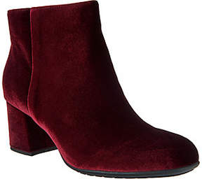 Earth Earthies Leather or Velvet AnkleBoots - Apollo