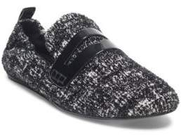 Lanvin Tweed Loafers