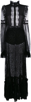 Amen sheer lace gown